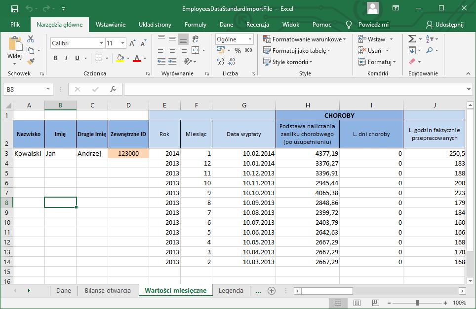 Najłatwiejszy sposób na wprowadzanie dużej ilości danych