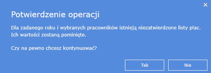 Wysyłka e-deklaracji wiPersonel -komunikat