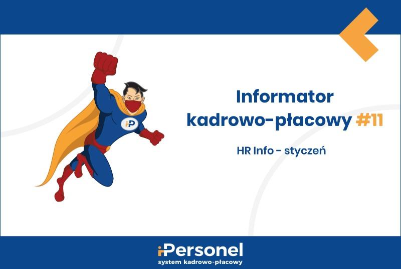 Informator kadrowo-płacowy #11: HR Info – styczeń